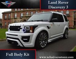 Land Rover Discovery 3 Front Bumper Front Wings Side Skirts Rear Bumper Kit