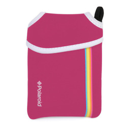 Polaroid Neoprene Pouch For Snap Instant Digital Print Camera - Pink - New