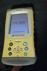 Topcon Brand Data Collector Model Fc 120 With Pocket3d Software