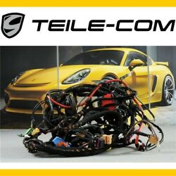 75 Porsche Macan 95b Wiring Harness/cable Set Panel / Wire Set Dashboard