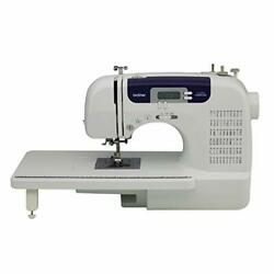 Sewing And Quilting Machine 60 Built-in Stitches 2.0 Lcd Display Wide Table New