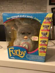 Furby 2005 Rare Your Emoto Tronic Friend New In Box Grey/blue With Blue Eyes