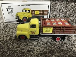 Kent Feeds 1957 International R-190 Stake Truck First Gear 1/34th Scale 1998 Ed.