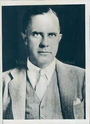 1935 Photo Thomas A Morgan Elected Chairman Board Curtiss Wright Business 5x7