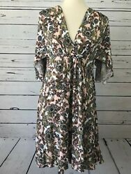 Victorias Secret Paisley Cover Up Beach Small Gown Sleep Lounge Beach Dress $25.20