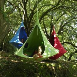 Outdoor Garden Camping Giant Hammock Swing Home Ceiling Hanging Sofa Bed