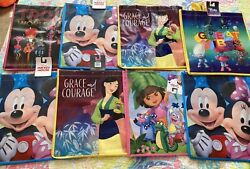 Kids Tote Bags. Eight Pieces 8 . New $11.48