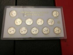 United States Wartime Silver Nickels - Exquisite Set Curated Over The Years.