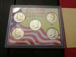 Complete 40 Silver John F. Kennedy Half Dollar Collection