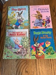 Lot Of 51 Little Golden Books, Bugs Bunny, Disney, Mickey Mouse, Misc Very Good