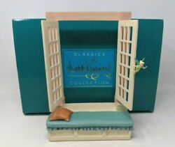 Wdcc Peter Pan Tinker Bell Window Frame Off To Never Land Mib - Rare 1217950