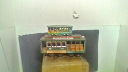 Two Vintage Tin San Francisco Street Cars Friction Made In Japan