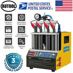 Petrol Car Fuel Injector Tester And Cleaner Heating Cleaning Machine Autool Ct160