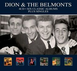 Dion And Belmonts 6 Classic Albums+singles [cd] New Cardboard Box A Little Damaged