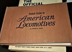 Railway Books 3 Official Guides, Pocket Guide Locomotives, Railroad Maps +