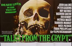 Tales From The Crypt 1972 Original Uk Quad Cinema Poster