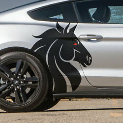 Fits Mustang Horse Steed Pickup Side Vehicle Decal Graphic Sticker Truck Vinyl