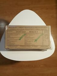 French Army Mre Ration 24h Menu Combat Daily Pack Survival Rcir France Fr R.i.e
