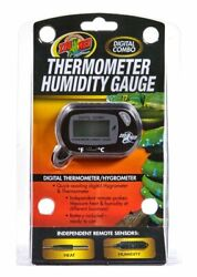 ZOO MED Digital Combo Thermometer Humidity Gauge Hygrometer FREE SHIPPING