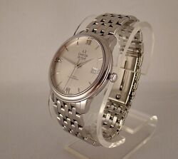 Omega Deville Prestige Co-axial Mens Stainless Steel Watch 42410372002001