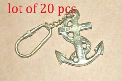Key Chain Nautical Collectible Key Chain Brass Key Ring Whistle