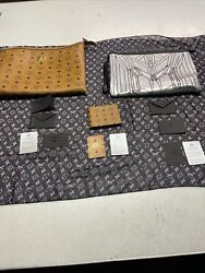 Authentic MCM MUNCHEN Clutches bags amp; Leather wallet lot lot of 3 $999.99