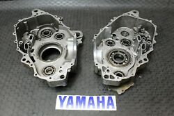 06-21 Yamaha Raptor 700 Crankcase Engine Cases Left And Right Sides A8