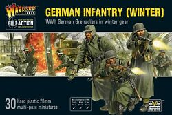 German Infantry Winter - Warlord Games -bolt Action -