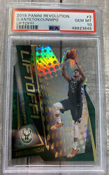 2019 Panini Revolution Liftoff Giannis Antetokoun 3 Psa 10 Gem Pop 6 Pmjs