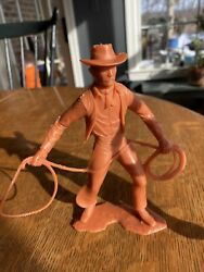 Vintage Louis Marx 1964 Cowboy With Lasso 6 Tall Lariat Rope
