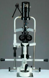 2 Step Slit Lamp W Aluminum Base Manual Table And 110v Power Supply