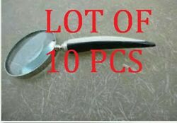 Collectible Magnifying Glass With Horn Handle Magnif