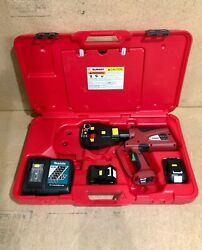 Burndy Pat81kftli Patriot 4-point Battery Actuated Crimper Dieless 6-ton