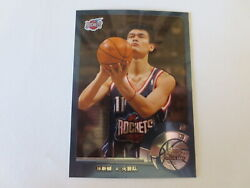2002-03 Topps Chrome Rookie Yao Ming 146 Chinese Version Rockets Sharp And Clean