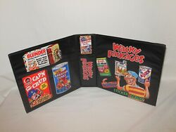 2 Inch Custom Made Wacky Packages Trading Card Album Binder Graphics Only
