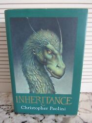 1st Edition Book Inheritance By Christopher Paolini 2011 Hardcover Hc/dj