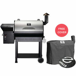 Z Grills Wood Pellet Grill And Bbq Smoker Outdoor Digital Control With Free Cover