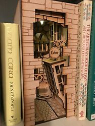 Knockturn Alley Book Nook - Complete Kit No Tools Required With Lights.