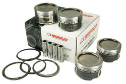 Forged Pistons Kit Wiseco 4 Cyl Fits Vw Golf / Jetta Aba 2.0l 8v 93-99 Bore 3.28