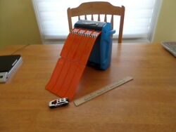 Hot Wheels Way Too Fast Storage Car Carry Case With Fold Out Ramp And 1 Car - Good