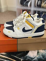 Dame Dash Nike Air Force 2 Andldquoceoandrdquo White/navy/yellow Size 10.5 Dead Stock