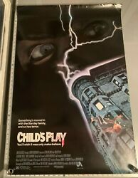 Childs Play 1988 Original One Sheet Movie Poster Ss 27x40 Rolled