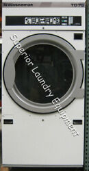 Wascomat Td75 Tumble Dryer 75lb 220v 3ph Gas Reconditioned