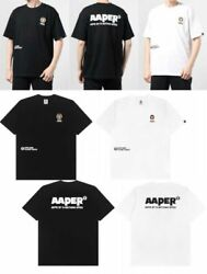 Aape By A Bathing Ape Menand039s T-shirt Aaper Papa One Point Fast Shipping Japan