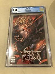 Venom 27 Error Variant Cover Cgc 9.8 - First 1st Appearance Of Codex - Key