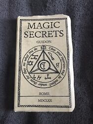 Magic Secrets By Guidon Society Of Esoteric Endeavor