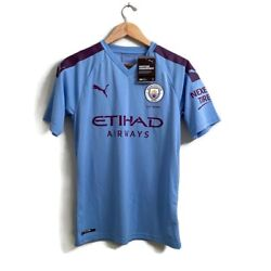 Manchester City Official 2019 Jersey Mens Small Nwt 125th Anniversary