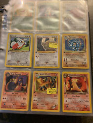 Vintage Pokemon Card Lot. 1st Editions Holos Promos Southern Island And More