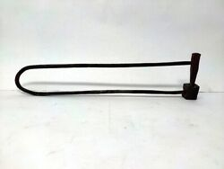 19th Antique Iron Cracker Blasting Toy Hand Forged Tool Collectible Old