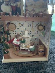 """Wee Forest Folk Ultra Rare Collectors Haven Special """"old Black Stove"""""""